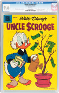Silver Age (1956-1969):Humor, Uncle Scrooge #18 (Dell, 1957) CGC NM+ 9.6 White pages....