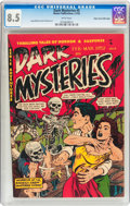 Golden Age (1938-1955):Horror, Dark Mysteries #5 Mile High Pedigree (Master Publications, 1952)CGC VF+ 8.5 White pages....