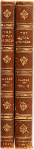 Books:Biography & Memoir, Mary Anne Clarke. The Rival Princes. London: Printed for the Author, 1810.... (Total: 2 Items)