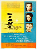 """Movie Posters:Drama, Giant (Warner Brothers, 1956). Poster (30"""" X 40"""") Style Y.. ..."""