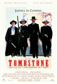 "Tombstone (Buena Vista, 1993). One Sheet (27"" X 40"") DS"