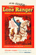 "Movie Posters:Western, The Lone Ranger (Warner Brothers, 1956). One Sheet (27"" X 41"")....."