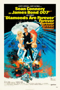 "Movie Posters:James Bond, Diamonds are Forever (United Artists, 1971). One Sheet (27.25"" X 41"").. ..."