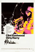 "Movie Posters:Crime, Dirty Harry (Warner Brothers, 1971). One Sheet (27"" X 41.5"").. ..."