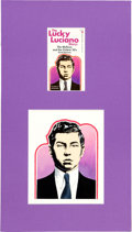 Original Comic Art:Covers, The Lucky Luciano Story Cover Illustration Original Art(Tower, 1969)....