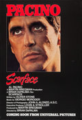 "Movie Posters:Crime, Scarface (Universal, 1983). One Sheet (27"" X 39.75"") Advance.Crime.. ..."