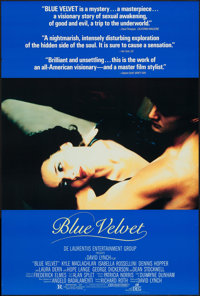 "Blue Velvet (DEG, 1986). One Sheet (26.5"" X 39.5""). Drama"