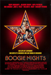 """Boogie Nights & Other Lot (New Line, 1997). One Sheets (2) (26.75"""" X 39.75"""" & 27"""" X 40&qu..."""