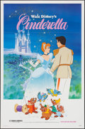 """Movie Posters:Animation, Cinderella & Other Lot (Buena Vista, R-1981). One Sheets (2)(27"""" X 41""""). Animation.. ... (Total: 2 Items)"""