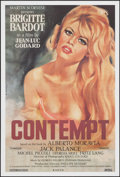 """Movie Posters:Foreign, Le Mepris (Rialto, R-2008). One Sheet (27"""" X 40""""). Foreign. Alternate Title: Contempt.. ..."""