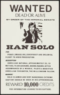 """Movie Posters:Science Fiction, Star Wars Wanted Posters (1970s). Unlicensed Posters (2) (11"""" X17.5""""). Science Fiction.. ..."""