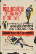 """Movie Posters:Mystery, Witness for the Prosecution (United Artists, 1958). One Sheet (27""""X 41""""). Mystery.. ..."""