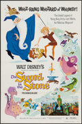 "Movie Posters:Animation, The Sword in the Stone (Buena Vista, R-1973). One Sheet (27"" X 41"")Flat Folded. Animation.. ..."