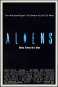 "Movie Posters:Science Fiction, Aliens (20th Century Fox, 1986). One Sheet (27"" X 41""). Science Fiction.. ..."