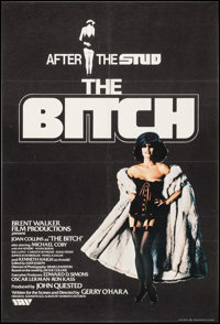 "The Bitch (Brent Walker, 1979). British One Sheet (27"" X 40""). Bad Girl"