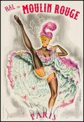 """Movie Posters:Musical, Bal du Moulin Rouge (Moulin Rouge, 1960s). French Petite (16"""" X 23.25""""). Musical.. ..."""