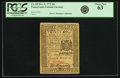 Colonial Notes:Pennsylvania, Pennsylvania December 8, 1775 30 Shillings Fr. PA-195. PCGS ChoiceNew 63.. ...