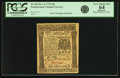 Colonial Notes:Pennsylvania, Pennsylvania December 8, 1775 40 Shillings Fr. PA-196. PCGS VeryChoice New 64 Apparent.. ...
