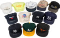 Baseball Collectibles:Others, 1990's Bobby Murcer Signed Baseball Cap Lot of 12 from The Bobby Murcer Collection. ...