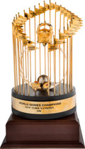Baseball Collectibles:Others, 1998 New York Yankees World Series Championship Trophy Presented toBobby Murcer....