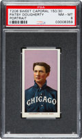 Baseball Cards:Singles (Pre-1930), 1909-11 T206 Sweet Caporal Patsy Dougherty, Portrait PSA NM-MT 8 -Only One Higher! ...