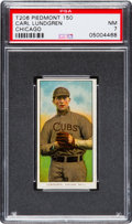 Baseball Cards:Singles (Pre-1930), 1909-11 T206 Piedmont - Series 150 Carl Lundgren, Chicago PSA NM7....