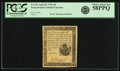 Colonial Notes:Pennsylvania, Pennsylvania April 20, 1781 6 Pence Fr. PA-242. PCGS Choice AboutNew 58PPQ.. ...