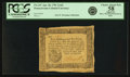 Colonial Notes:Pennsylvania, Pennsylvania April 20, 1781 2 Shillings 6 Pence Fr. PA-247. PCGSChoice About New 58 Apparent.. ...