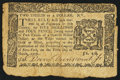 Colonial Notes:New York, New York March 5, 1776 $2/3 Fine.. ...
