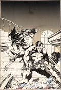 Original Comic Art:Covers, Jim Lee Overstreet's Price Update #7 Cover Original Art(Robert Overstreet, 1988)....