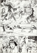 "Original Comic Art:Panel Pages, Bernie Wrightson National Lampoon #1982-01 ""Bewitched"" StoryPage Original Art (National Lampoon, 1982)...."