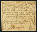 Colonial Notes:Massachusetts, Massachusetts October 16, 1778 9d Fine.. ...