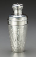 Silver Holloware, American:Other , An American Silver Cocktail Shaker, 20th century. Marks: TIFFANY& CO., STERLING SILVER, 925. 8 inches high (20.3 cm). 1...