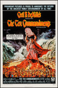 "Movie Posters:Drama, The Ten Commandments & Other Lot (Paramount, R-1972). OneSheets (2) (27"" X 41""). Drama.. ... (Total: 2 Items)"
