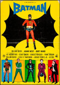 "Movie Posters:Action, Batman (20th Century Fox, 1966). Italian Foglio (26.5"" X 37.5"").Action.. ..."