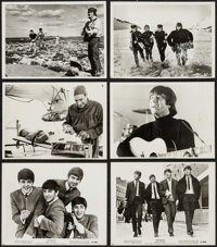 "The Beatles Come to Town & Others Lot (United Artists, 1964). Photos (2) (8"" X 10""), Trimmed Photos (4..."