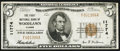 National Bank Notes:Illinois, Woodlawn, IL - $5 1929 Ty. 1 The First NB Ch. # 11774. ...