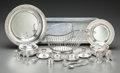 Silver Holloware, French:Holloware, A Group of Nineteen Christofle Silver-Plated Table Items, Paris,France, 20th century. Marks: CHRISTOFLE. 7 inches high ...(Total: 19 Items)