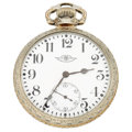 Timepieces:Pocket (post 1900), Ball (Hamilton) 23 Jewel Official Railroad Standard. ...