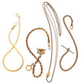 Timepieces:Watch Chains & Fobs, Four Watch Chains & Fobs. ... (Total: 4 Items)
