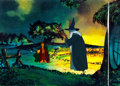 Animation Art:Production Cel, Lord of the Rings Merry and Gandalf Production Cel (RalphBakshi Studios, 1978). ...