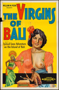 """Movie Posters:Documentary, The Virgins of Bali (Principle Pictures, 1932). One Sheet (27"""" X 41""""). Documentary.. ..."""