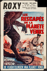"""20 Million Miles to Earth (Columbia, 1957). Belgian (14.25"""" X 22""""). Science Fiction"""