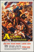 """Movie Posters:Western, The Alamo (United Artists, 1960). One Sheet (27"""" X 41""""). Western.. ..."""
