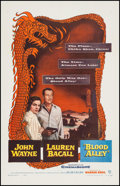 """Movie Posters:Action, Blood Alley (Warner Brothers, 1955). One Sheet (27"""" X 41""""). Action.. ..."""
