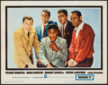 "Movie Posters:Crime, Ocean's 11 (Warner Brothers, 1960). Lobby Card (11"" X 14""). Crime.. ..."