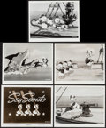 "Movie Posters:Animation, Sea Scouts (RKO, 1939). Photos (5) (8"" X 10""). Animation.. ... (Total: 5 Items)"