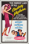 "Movie Posters:Romance, Sabrina (Paramount, R-1965). One Sheet (27"" X 41""). Romance.. ..."