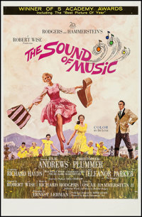 "The Sound of Music (20th Century Fox, 1965). One Sheet (27"" X 41"") Academy Awards Style. Academy Award Winners..."
