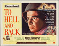 "Movie Posters:War, To Hell and Back (Universal International, 1955). Half Sheet (22"" X28"") Style A. War.. ..."